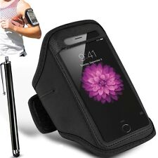 Black Armband Gym Running Jogging Sports Case Cover Apple iphone 6S Plus