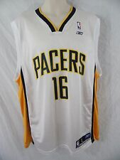INDIANA PACERS #16 Peja Stojakovic - Mens L - Reebok NBA Basketball Jersey