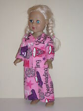 "Cheerleader Pajamas for 18"" Doll Clothes American Girl"