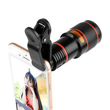 12X Zoom Optical Clip Telephoto Telescope Camera Lens For Universal Phone iPhone