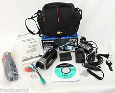 Panasonic HDC-TM90P (16GB) High Definition 3D Camcorder With Bag Gently Used