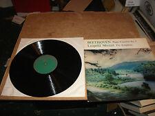 BEETHOVEN PIANO CONCERTO No  3  /  LEOPALD MOZART TOY SYMPHONY VINYL LP