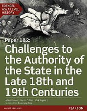 Edexcel AS/A Level History, Paper 1&2: Challenges to the Authority of the State