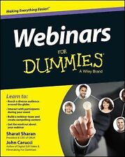 Webinars for Dummies by Carucci (2014, Paperback)