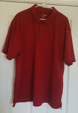 Grand Slam Mens Red Polo Shirt Size XXL