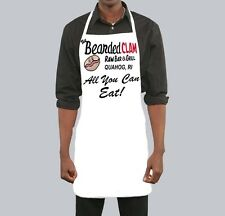 Funny Sexy Adult Apron BEARDED CLAM ALLYOU CAN EAT! Family Guy Halloween Costume