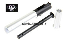 Bell V12 Metal Outer Barrel For Bell Marui Army Hi-Capa 5.1 Silver BELL708QG3-SV