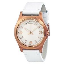 Marc by Marc Jacobs Baby Dave White Leather Unisex Watch MBM1260