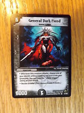 Duel Masters TCG - DM-02 Evo-Crushinators - General Dark Fiend 27/55