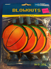 Championship Basketball Sports Banquet Kids Birthday Party Favor Horns Blowouts