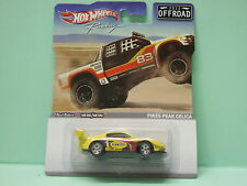 CELICA PIKES PEAK OFFROAD REAL RIDERS HOT WHEELS 1/64 3 inches