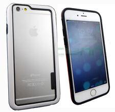 """BUMPER bianco+nero per iPhone 6 6S Plus 5.5"""" custodia cover protezione laterale"""