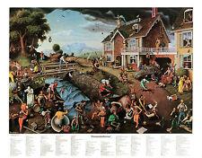 Proverbidioms & Proverbidioms II T. E. Breitenbach 2 Print Set Fantasy Poster
