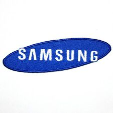 Samsung Logo Electricity Sports Sponsor Football Game Staff Shirt Iron on Patch