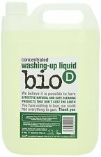 NEW!! Bio D Washing-Up Liquid with vegetable glycerine, 5 litre