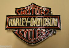 Harley Davidson Motor Cycles Belt Buckle fix to own belt New
