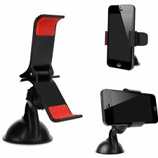 UNIVERSAL SAT NAV HOLDER WINDSCREEN OR DASHBOARD MOUNT UP TO 9CM TOMTOM GARMIN
