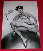 JOAN LESLIE PERSONALLY HAND SIGNED 12X8 PHOTO AUTOGRAPH HOLLYWOOD MOVIES