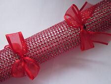 *** Nuovo Elite gamma Rosso mozzafiato fatto a mano Christmas Cracker ***