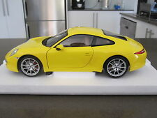 1:18 MINICHAMPS 2011 PORSCHE CARRERA S - LIMITED EDITION OF 504