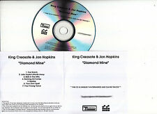 KING CREOSOTE & JON HOPKINS Diamond Mine UK 7-tk watermarked promo test CD
