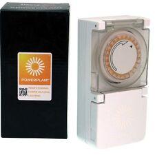 PowerPlant Heavy Duty plug-in HID orticole illuminazione 24 Ore Timer CFL 600W