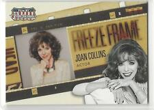 JOAN COLLINS 2015 Americana Freeze Frame Film Cell Insert DYNASTY