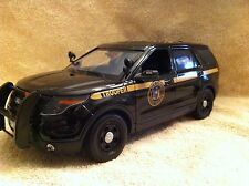 1/18 SCALE NEW YORK STATE PD BKFORD SUV UT DIECAST WITH WORKING LIGHTS AND SIREN
