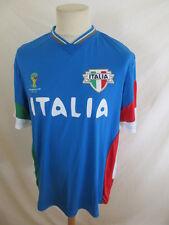 Maillot de football de l'équipe d' Italie Coupe du Monde Brésil 2014 Taille L à