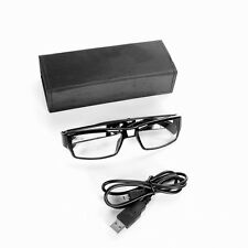 SPY Eyewear Video Camera Cam NO HOLE HIDDEN LENS Security Glasses 8GB 720P Black