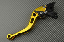 levier leviers levers court short CNC Or Gold Suzuki GSXR 600 K1 K2 K3 2001-2003