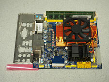 Giada MI-R880G AMD Athlon II X4 645 3.10Ghz 4GB DDR3 1333Mhz Fully Tested Works
