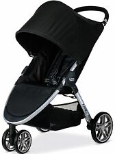 Britax B-AGILE 3 Lightweight One Hand Fold Single Stroller Black New 2017