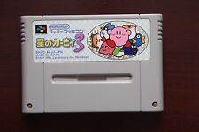 Super famicom SFC Star Kirby 3 Japan import game US seller