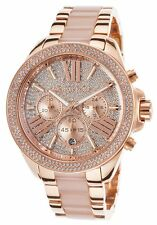 New Michael Kors MK6096 - Ladies Rose Gold WREN Watch - Next Day Delivery