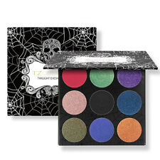 Cosmetics Eyeshadow 9 Colour Glitter Palette Pigment Naked Makeup
