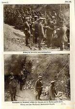 Gasmasken-Appell *  Bilddokumente von der Westfront 1917