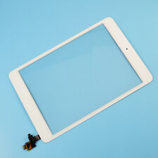 White Front Touch Screen Digitizer Glass Replace Home Button Flex for iPad Mini