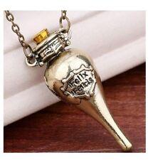 Felix Felicis Pendant Necklace Harry Potter Lucky Potion Bottle