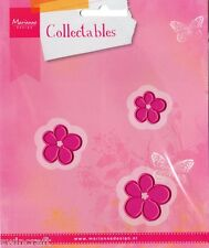 Marianne COLLECTABLES Die Cutting/Emboss Stencil FLOWER SET - COL1323 Cuts Felt