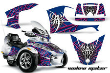 AMR Racing Can Am BRP RTS Spyder Graphic Kit Wrap Street Bike Decal WIDOW PINK