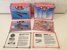 "DESERT STORM ""TROOPS"" SERIES 1 & 2 Trading Card Set by SPECTRA STAR (ALL 120)"