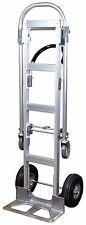 2 in 1 Aluminum Hand Truck / Dolly & Utility Cart -  Heavy Duty 770 lbs (HS-7B)