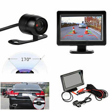 "4.3"" TFT LCD Car Rear Monitor View System Backup Reverse Camera Night Vision"