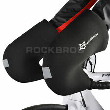 RockBros Winter Gloves Cycling Handlebar Mittens Hand Warmers Covers Black
