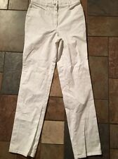 Woman's Zerres White Tapered  Leg Jeans Size 29 X 32
