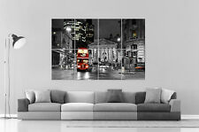LONDON LONDRES B&W CITY VILLE  Wall Art Poster Grand format A0 Large Print