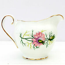 Vintage Adderley Love in the Mist Fine Bone China Milk Jug