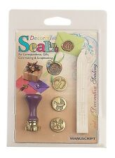NEW BABY BIRTH 3 COIN SEALS PRAM FEET ROCKING HORSE & SEALING WAX MANUSCRIPT BIR