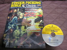 Finger Picking Bible Japan Book w CD Guitar Chet Atkins Jerry Reed Jeff Beck